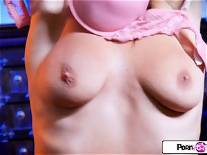 Felicity Feline immense boobies fat arse and cock-squeezing raw cootchie