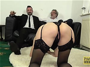 PASCALSSUBSLUTS - Leanne Morehead bum rammed before facial