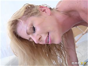 red-hot platinum-blonde physician Alexis Fawx