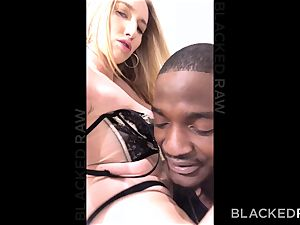 BLACKEDRAW phat ass white girl ravages bbc Because Her bf Told He