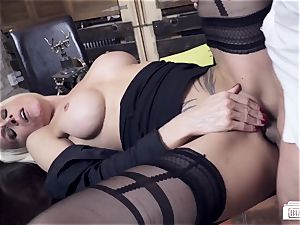 booties BUERO - steamy German mummy pounds boss at the office