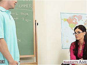little breasted professor India Summer screw her teenager schoolgirl