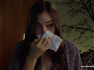 cool Sasha Grey bares her small knockers