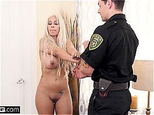 On 4th of July Bridgette B screws a cop