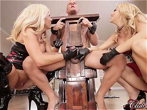 spunky Ms. Alexis Fawx predominates her fresh enslaved