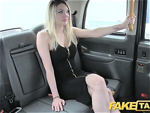 faux cab super sizzling blonde with a superb assets luvs boner