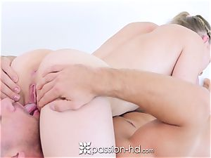 Passion-HD - Cali Sparks and her workout mate shag
