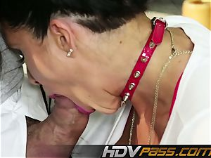 HDVPass veteran milf Romi Rain gets naughty