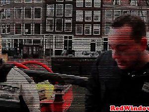 cockblowing amsterdam hooker jizzed on