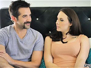 Spizoo - observe Chanel Preston gargling and ravaging