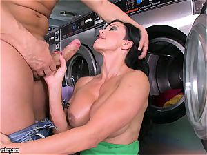 ultra-kinky breezy pleasure buttons bj's a meaty man meat before getting her coochie jammed with shaft