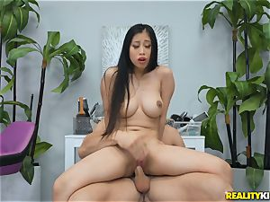 Jade Kush railing on a firm boner