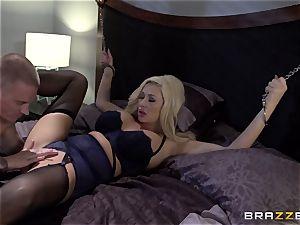huge-boobed light-haired Summer Brielle smashes her schoolgirl