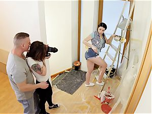MY insatiable ALBUM - Russian stunner romps cameraman point of view