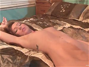 Maddy OReilly gets her facehole packed with big jizz