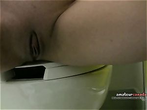 Russian sandy-haired deepthroats balls oral job in motel gloryhole