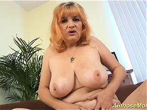 lush furry redhead mother masturbating