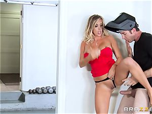 sizzling wifey Samantha Saint bangs her husbands brother