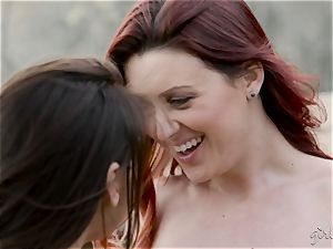lezzie lovelies Karlie Montana and Sara Luv