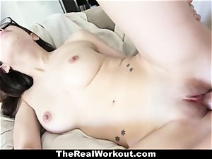 TheRealWorkout - mischievous nubile Ava Taylor porks Her Coach