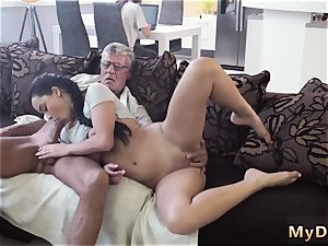 daddy and accomplice s daughter alone xxx What would you choose - computer or your