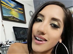 Office cutie Chloe Amour deep-throats and boinks point of view