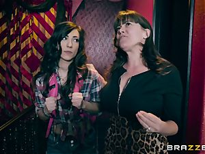 girly-girl joy with Alexa Nova and Ruby Sparx