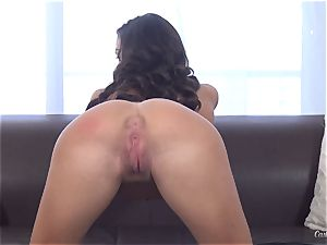 Asha Marie busts like a hose pipe at her casting