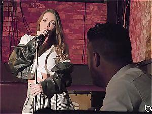 Abigail Mac sings well but she pokes finer
