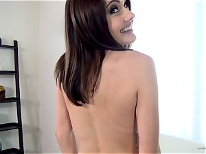 Adria Rae gets carried away at a splendid casting session