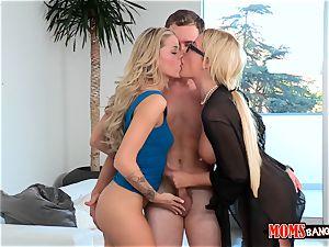 Jessa Rhodes and her stepmom seduce the bf