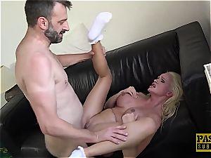 Cindy Sun gets used and manhandled like a pocket muff