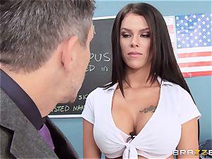 filthy schoolgirl Peta Jensen pounds the successful dean
