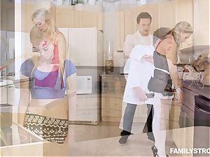 Scientific kitchen pummel with Anastasia Knight and Tucker Stevens