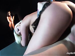 Jayden Jaymes watches as Britney Amber gets nailed